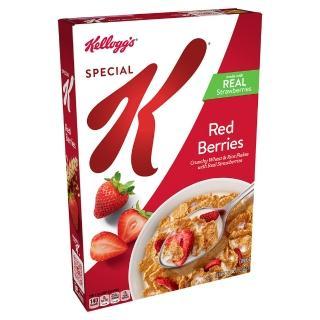 【家樂氏】Special K草莓香脆麥米片331g(早餐麥片/穀片)