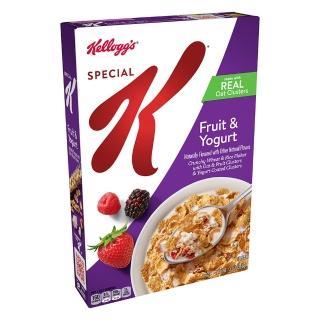 【家樂氏】Special K水果優格香脆麥米片早餐368g(早餐麥片/ 穀片)