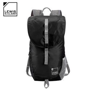 【LEWIS N CLARK】口袋型超輕量雙肩包1780 / 城市綠洲(後背包、休閒旅遊包、美國品牌)