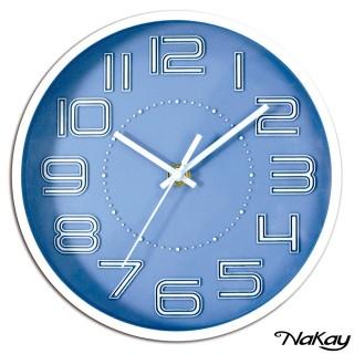 【NAKAY】8吋桌掛兩用立體數字掛鐘(NCL-42)