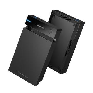 【綠聯】2.5/3.5硬碟SSD通用外接盒