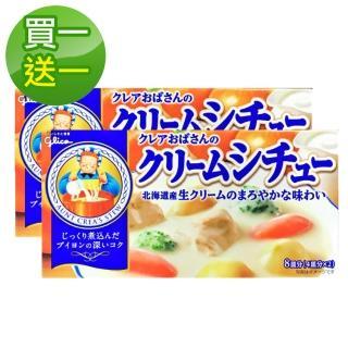 【Glico 格力高-買一送一】料理奶奶白醬料理塊-150g(到期日:2019/12/30)