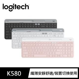 【Logitech 羅技】K580 超薄跨平台藍牙鍵盤