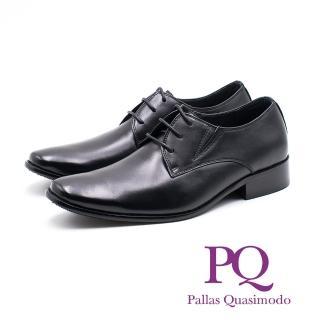 【PQ】俐落尖頭德比鞋 男鞋(黑)