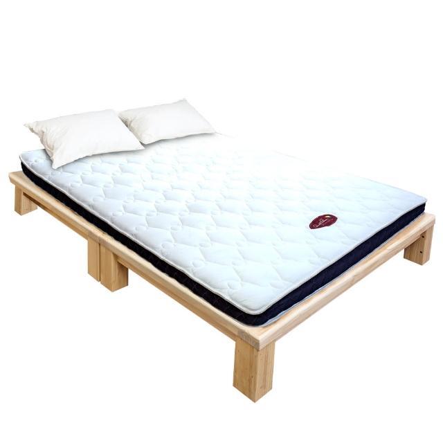 【BODEN】超薄型8cm獨立筒彈簧床墊-5尺雙人/