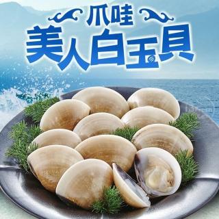 野生捕撈新鮮熟凍大白玉蛤 超值組