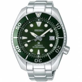 【SEIKO 精工】PROSPEX系列相撲廣告款潛水機械錶(綠 6R35-00A0G SPB103J1)