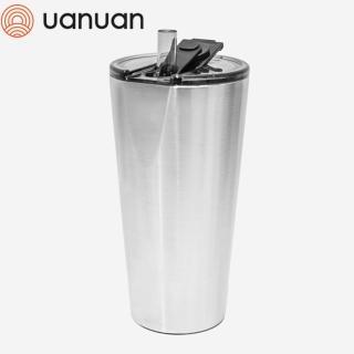【UANUAN 源源鋼藝】HIDING TUMBLER 不鏽鋼飲料杯750ML(保冰杯/保冰瓶/珍奶杯/隨行杯/飲料瓶)