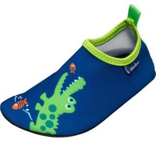 【德國Playshoes】抗UV水陸兩用沙灘懶人童鞋-鱷魚(認證防曬UPF50+兒童戶外涼鞋雨鞋運動水鞋)