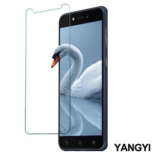【YANG YI 揚邑】ASUS ZenFone Live L1 鋼化玻璃膜9H防爆抗刮防眩保護貼(ZA550KL)