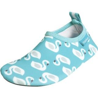 【德國Playshoes】抗UV水陸兩用沙灘懶人童鞋-天鵝(認證防曬UPF50+兒童戶外涼鞋雨鞋運動水鞋)
