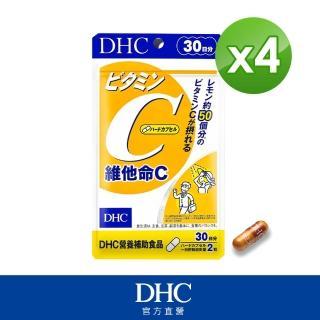 【DHC】維他命C 30日份(60粒/包)*4包組