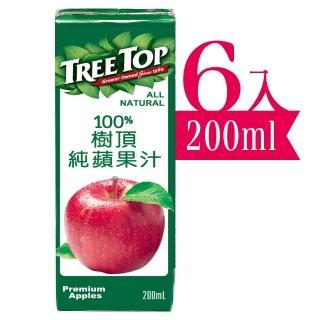 【Tree Top 樹頂】蘋果汁(200mlx6入)