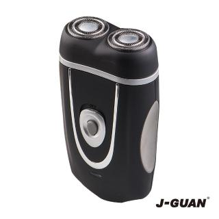 【J-GUAN】USB雙刀頭充電刮鬍刀(JG-US881)