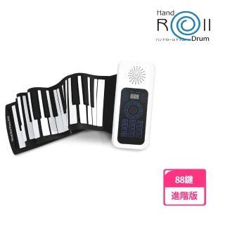 【山野樂器】88鍵手捲鋼琴 進階版(移調功能 加厚琴鍵 USB充電 送延音踏板)