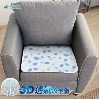 【格藍傢飾】水洗速乾3D透氣坐墊1人座-藤蔓(15mm)