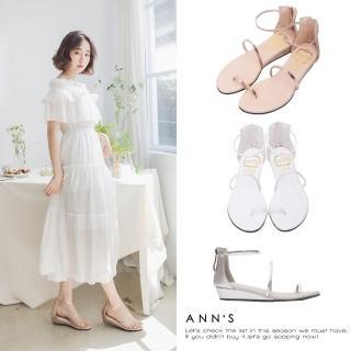 【Ann'S】銷售破千雙極致舒適仙女顯瘦涼鞋(三色)
