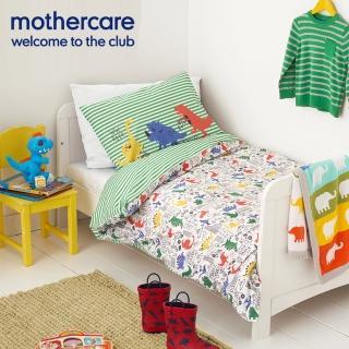 【mothercare】幼幼動物被套+枕套(小恐龍)
