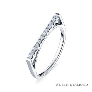 【RUIEN DIAMOND 瑞恩鑽石】輕珠寶系列 20分 18K金(鑽石戒指)