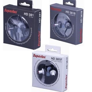 【Superlux】監聽級內耳式小耳機(HD381系列)