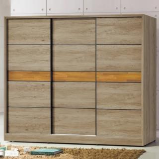 【AS】馬德奧7.5×7尺衣櫃-224x60x197cm