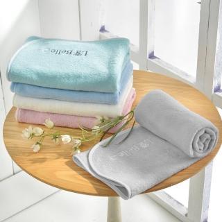 【加購】La Belle《經典刺繡》舒柔枕巾2入(多色任選)
