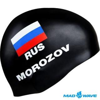 【MADWAVE】MOROZOV 成人矽膠泳帽(防水矽膠材質)