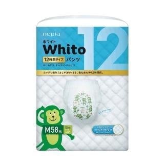 【nepia 王子】Whito超薄長效拉拉褲/褲型尿布(M58)