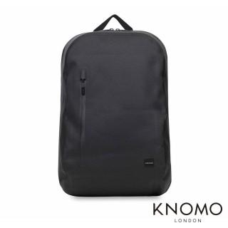 【KNOMO】英國 Harpsden 簡約休閒後背包(黑色 14 吋)