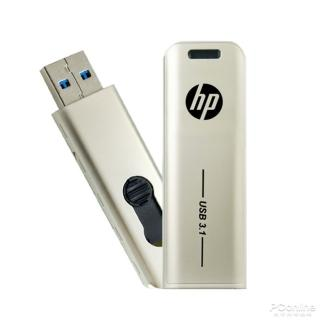 【HP 惠普】x796w USB 3.1 Gen1 128GB金屬伸縮隨身碟