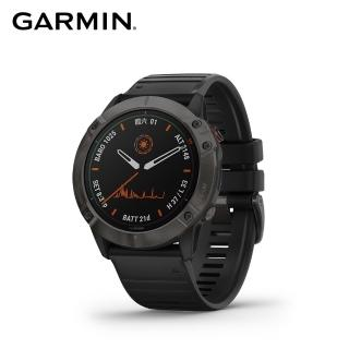 【GARMIN】Fenix 6X Pro Solar 太陽能進階複合式運動GPS腕錶