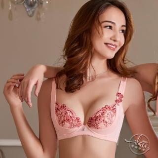 【Lady】許願花藤系列 G罩 機能調整型內衣(珊瑚橘)