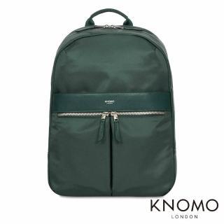 【KNOMO】英國 Beauchamp 電腦後背包(森林綠 14 吋)