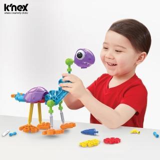【美國 KNex】逗比恐龍-100件組(STEAM玩具)