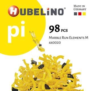 【德國HUBELiNO】Pi 系列軌道積木 98pcs(軌道套件)