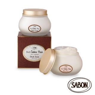 【SABON】以色列綠玫瑰三合一修護髮膜200ml