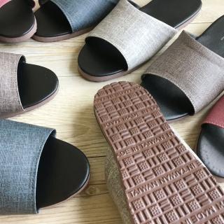 【iSlippers】簡約系列-純色皮質室內拖鞋(爵士款-多色任選)
