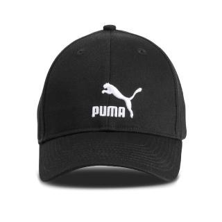 【PUMA】帽子 ARCHIVE Logo BB Cap 男女款 遮陽帽 老帽 刺繡LOGO 帽圍可調 穿搭 黑白(02204801)