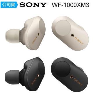 【SONY 索尼】WF-1000XM3 真無線降噪藍芽耳機(台灣公司貨)