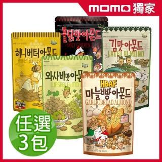 【Toms Gilim】韓國湯姆農場杏仁果家庭號210g任選3包組
