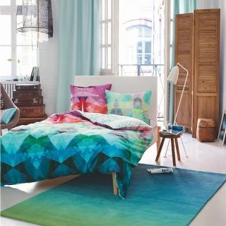 【山德力】ESPRIT home 晨芙 170X240CM(長型地毯 漸層 藍綠色 客廳 書房 餐廳 起居室 生活美學)