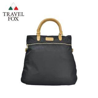 【TRAVEL FOX 旅狐】親輕3WAYS三用尼龍包(TB693-01 黑色)