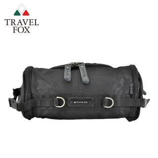 【TRAVEL FOX 旅狐】經典防潑水臀/腰包/斜背包(TB236-01 黑色)