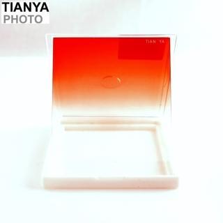 【Tianya】天涯80紅漸層紅漸變紅SOFT減光鏡(方形83x100mm相容法國Cokin高堅P方型ND減光鏡ND濾鏡片)