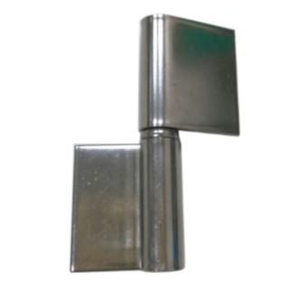 HI047 3英寸 白鐵後鈕 79mm 防盜窗後鈕 無孔不銹鋼鉸鏈 轉軸門片 旋轉片門軸(不鏽鋼後紐 焊接活頁門片)
