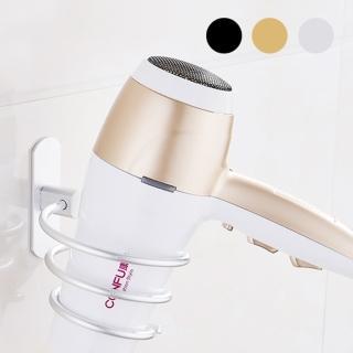 AA088 免打孔 太空鋁吹風機支架 風筒架 壁掛 吹風機收納架 理髮店用吹風機美髮架(美髮專用風筒架)