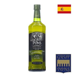 【PONS 龐世】特級冷壓橄欖油 750ML(進口食材)