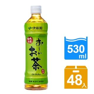 【伊藤園】Oi Ocha 綠茶530ml 24入x2箱(共48入)