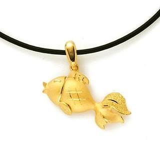 【D.M.】如魚得水黃金墜055錢