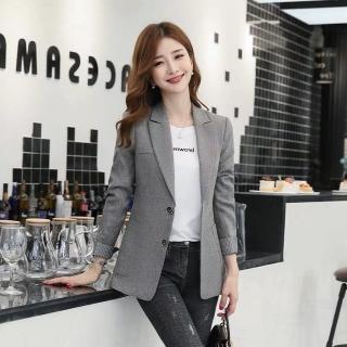 【Dorri】優雅氣質知性時尚百搭西裝小外套M-3XL(共三色)
